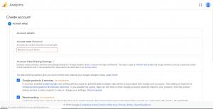 مرحله چهارم راه اندازی گوگل انالیتیکس برای وب سایت
