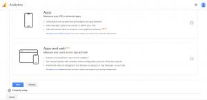 مرحله پنجم راه اندازی گوگل انالیتیکس برای وب سایت