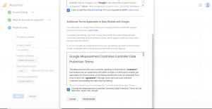مرحله هفتم راه اندازی گوگل انالیتیکس برای وب سایت
