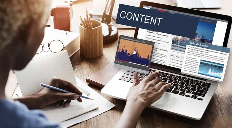 اهمیت محتوا در طراحی سایت