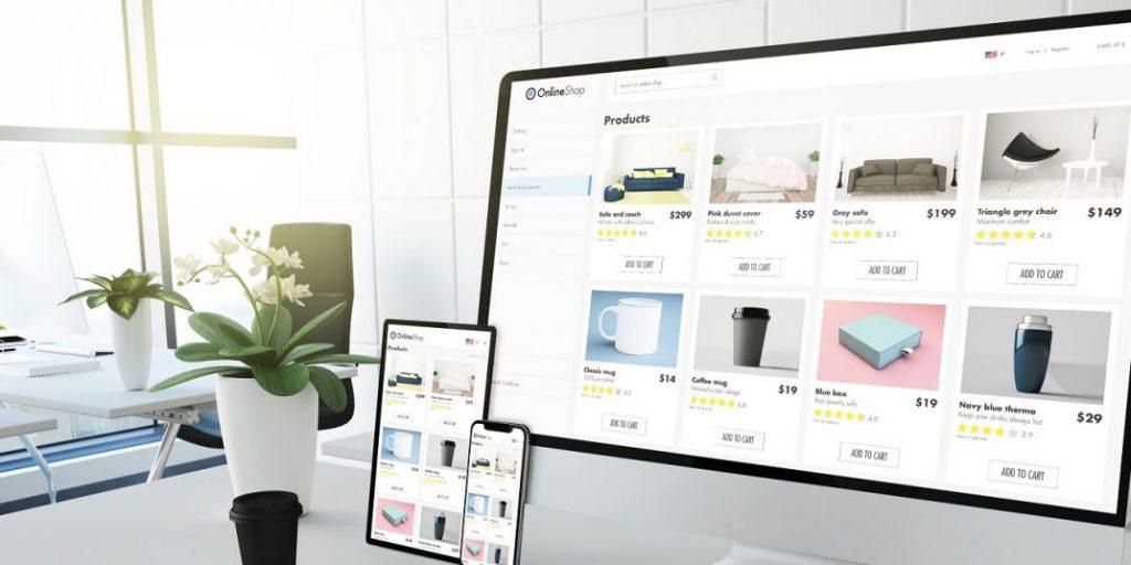 طراحی فروشگاه اینترنتی و مزایای آن