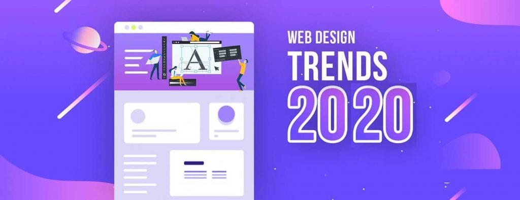 روند طراحی سایت در سال 2020