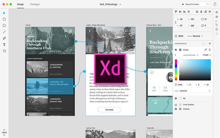 ادوبی ایکس دی یا Adobe XD