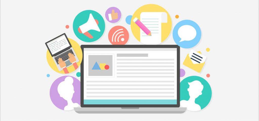 محتوا در طراحی وب سایت